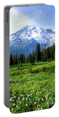 Mt. Rainier National Park Portable Battery Charger