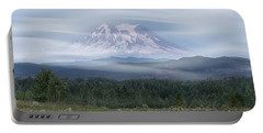 Mt. Rainier Portable Battery Charger by Patti Deters