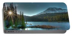 Mt. Rainier Sunrise Portable Battery Charger