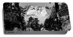 Mt Rushmore Portable Battery Charger by American School