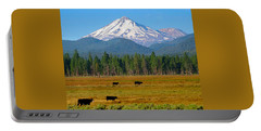 Mt. Shasta Morning Portable Battery Charger