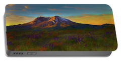 Mt. St. Helens Sunrise Portable Battery Charger