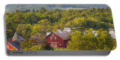 Mt View Farm In Summer Portable Battery Charger