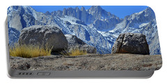 Mt. Whitney - Highest Point In The Lower 48 States Portable Battery Charger