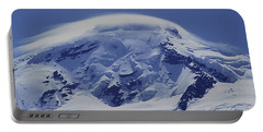 Portable Battery Charger featuring the photograph Mt201cloudcap Over Mt. Baker Wa by Ed Cooper Photography