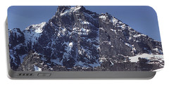 Portable Battery Charger featuring the photograph Mt207 North Face Lincoln Peak Wa by Ed Cooper Photography