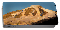 Mt.baker At Sunset  Portable Battery Charger