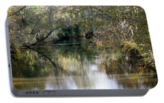 Portable Battery Charger featuring the photograph Muckalee Creek by Jerry Battle