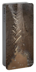 Portable Battery Charger featuring the photograph Mud Escape by Stephen Mitchell
