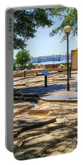 Mud Island Park Portable Battery Charger by Jennifer White
