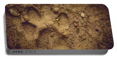 Muddy Pup Portable Battery Charger by Stefanie Silva