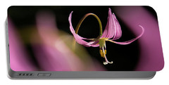 Portable Battery Charger featuring the photograph Mug - Pink Fawn Lily by Inge Riis McDonald