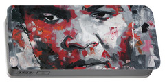 Muhammad Ali II Portable Battery Charger by Richard Day