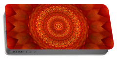 Muladhara Chakra Mandala Portable Battery Charger