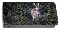 Mule Deer Doe Portable Battery Charger