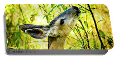 Mule Deer In Jackson Hole Portable Battery Charger