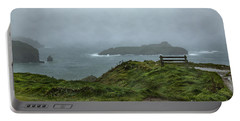 Portable Battery Charger featuring the photograph Mullion Cove by Brian Roscorla