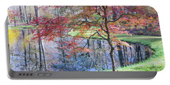 Multi Color Japanese Maple Portable Battery Charger