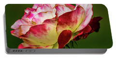 Multi-colored Rose Portable Battery Charger
