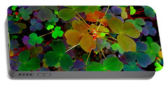 Multi-coloured Leaves Portable Battery Charger