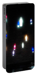 Multi Colored Lights Portable Battery Charger