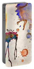 Multicolor Splash Portable Battery Charger