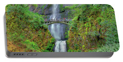 Multnomah Falls 2  Portable Battery Charger