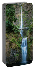 Multnomah Falls Portable Battery Charger by Chris McKenna