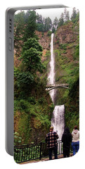 Multnomah Falls, Columbia River Gorge, Or Portable Battery Charger