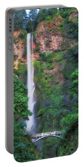 Multnomah Falls Portland Oregon Portable Battery Charger
