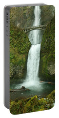 Multnomah Falls Portable Battery Charger by Sheila Ping