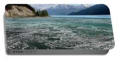 Muncho Lake And The Alaskan Highway Portable Battery Charger