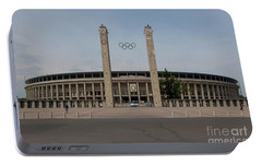 Berlin Olympic Stadium Portable Battery Charger by Nichola Denny