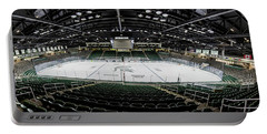 Munn Ice Arena  Portable Battery Charger by John McGraw