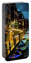 Murano At Night. Portable Battery Charger