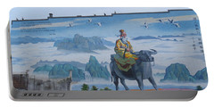 Mural In Chinatown Vancouver Portable Battery Charger