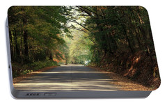 Portable Battery Charger featuring the photograph Murphy Mill Road by Jerry Battle