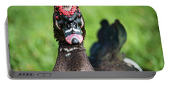 Muscovy Duck-0278 Portable Battery Charger
