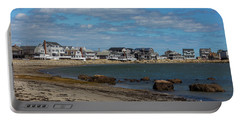 Museum Beach Scituate Massachusetts Portable Battery Charger