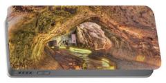 Mushpot Cave Portable Battery Charger by Richard J Cassato