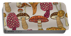 Mushroom Pattern Portable Battery Charger