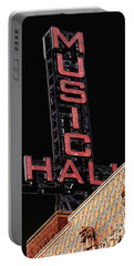 Music Hall Sign Portable Battery Charger