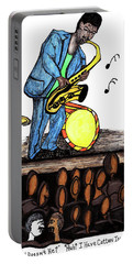 Music Man Cartoon Portable Battery Charger