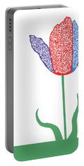 Portable Battery Charger featuring the digital art Music Notes 3 by David Bridburg