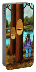 Music Of Forest Portable Battery Charger