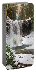 Portable Battery Charger featuring the photograph Music Of Nature - Waterfall Art by Jordan Blackstone