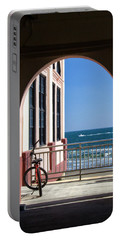 Music Pier Doorway View Portable Battery Charger