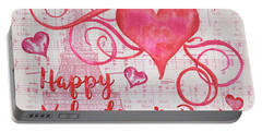 Musical Valentine Portable Battery Charger