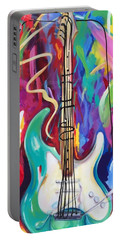 Musical Whimsy  Portable Battery Charger by Heather Roddy