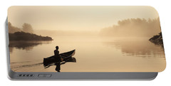 Muskoka Morning Portable Battery Charger